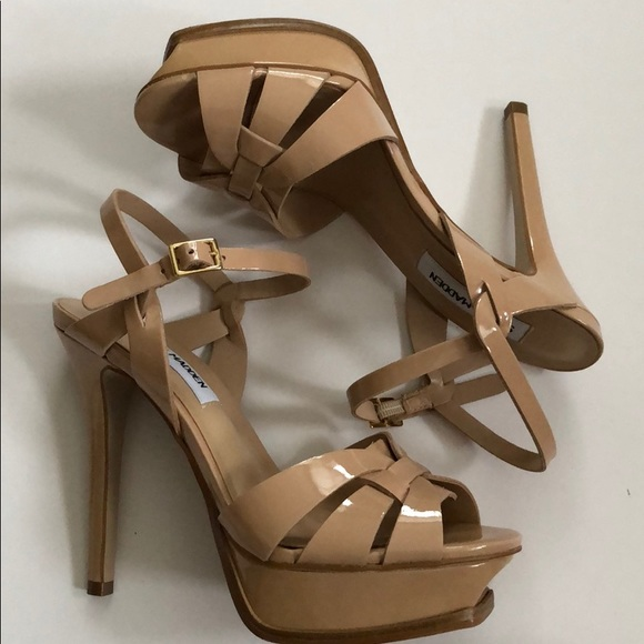 73b1df0dc220 Steve Madden nude platform sandals. M 5c50b4483c98446a2ebc171c